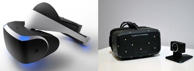 Casque PS4 Morpheus vs Oculus Rift Crystal Cove : lequel choisir ?