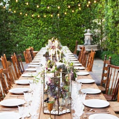 The Most Enchanting Al Fresco Dinner Parties