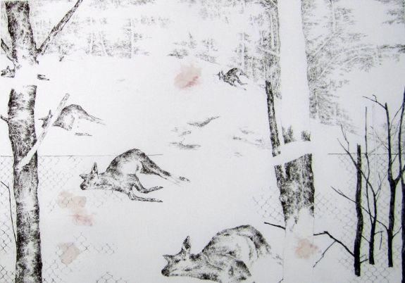 Nogah Engler. Pencil on paper