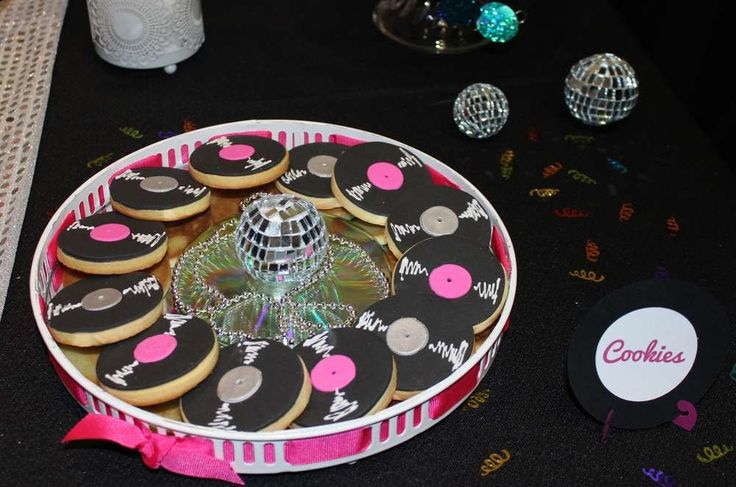 Disco Birthday Party Ideas | Photo 4 of 10 | Catch My Party