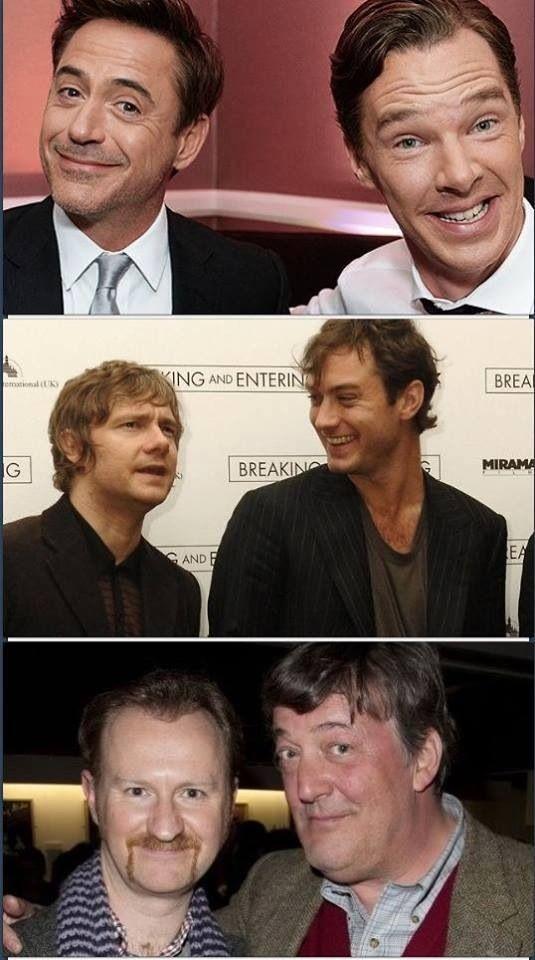 Sherlock's, John's, & Mycrofts's
