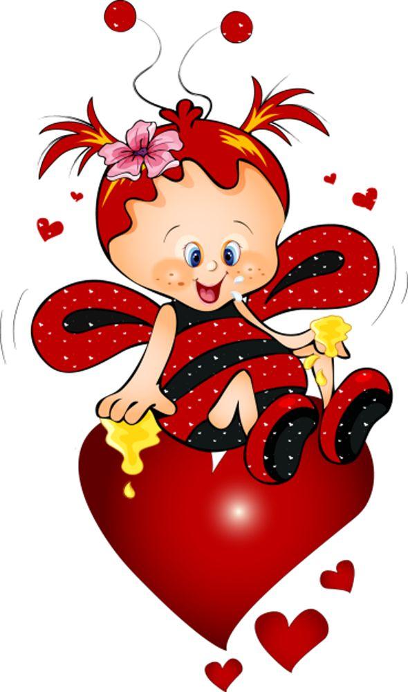 Картинки персонажей святого валентина