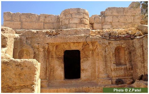 Cave of Ashabe-Kahf (exterior)