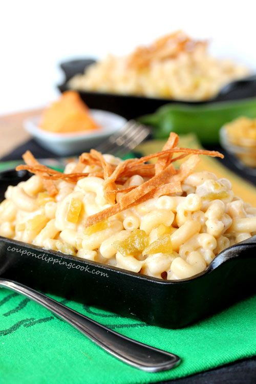 Green Chile Macaroni and Cheese | Coupon Clipping Cook | Pinterest