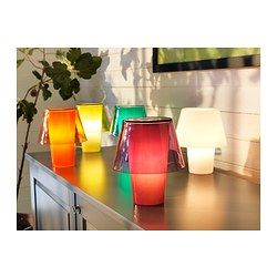 GAVIK Lampada da tavolo - IKEA GAVIK Lampada da tavolo, arancione ...