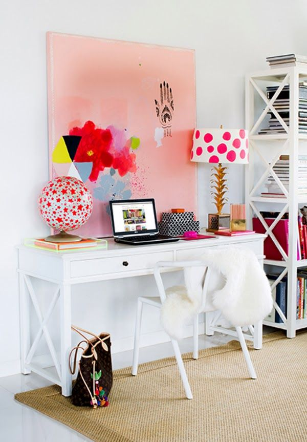 ChicDecó: | Styling a workspace