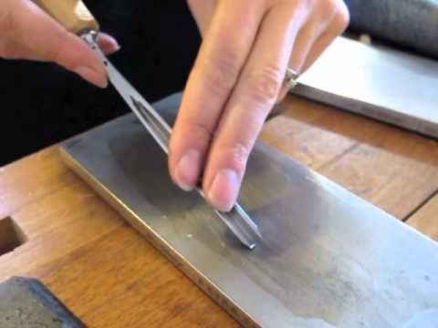 Sharpen the Tricky V-chisel with Mary May