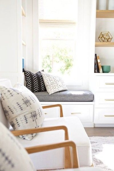 Neutral Palette - The Reading Nooks You Need To Mimic  - Photos