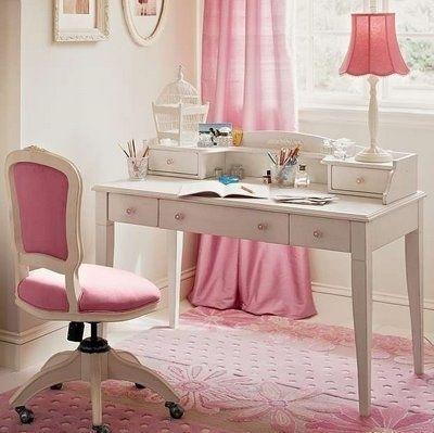 arredamento, bianco, casa, decor, desk, girly - inspiring picture on Favim.com   We Heart It