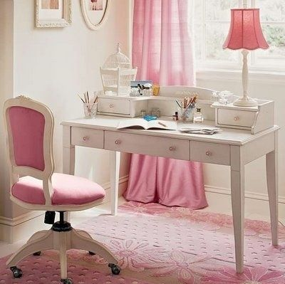 arredamento, bianco, casa, decor, desk, girly - inspiring picture on Favim.com | We Heart It