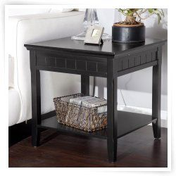 black end tables google search