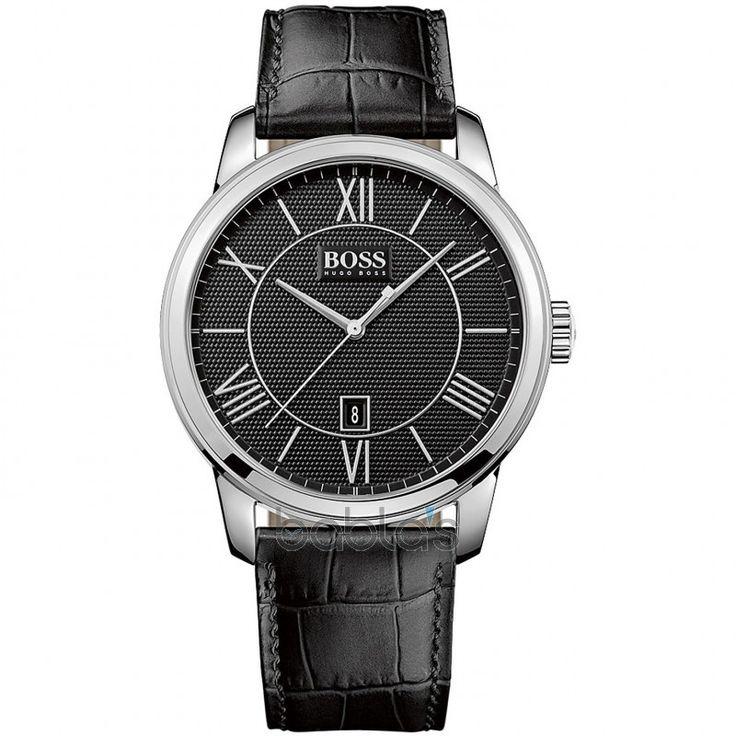 Hugo Boss Real Black 1512974 Férfi karóra - Boss - óra, karóra, webáruház és üzlet, Vostok, Bering, Ice Watch, Morgan, Mark Maddox, Zeno watch, Lorus