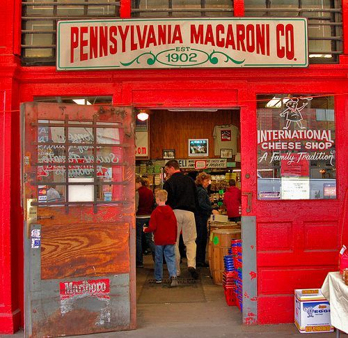 Pittsburgh strip district list of stores