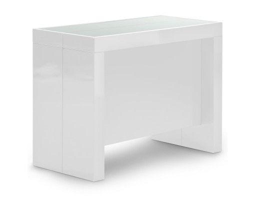 25 best ideas about console extensible blanc laqu on pinterest console ex - Console extensible belgique ...