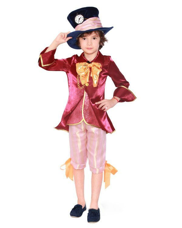 boys mad hatter costume boys wonderland cosplay kids mad hatter costume boy Christmas pageant costume mad hatter tea party costume by SoCharmingCraft on Etsy