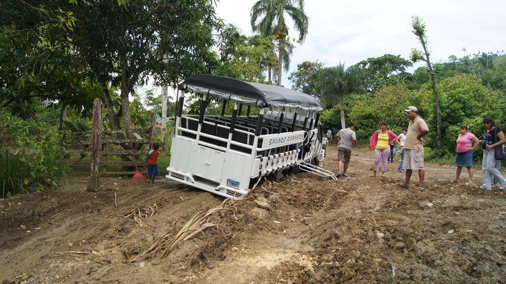 Dominicaanse republiek Gelukkig waren wij met een jeep op safari