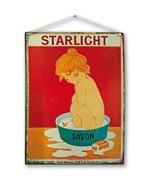 Cartello metallo vintage STARLIGHT