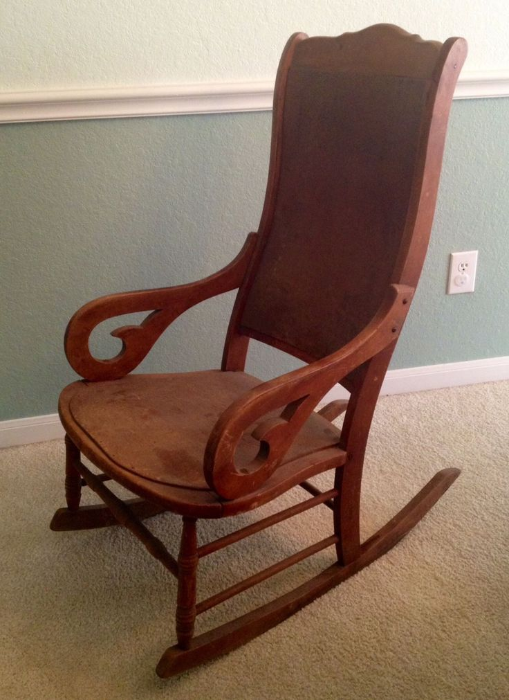 rock antiques rocking chair redo rocking chair rocker lincoln rocker ...