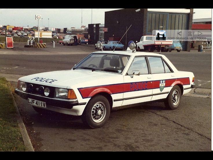 1970's Ford Granada Police Car Police cars, British