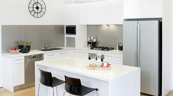 A classic Australian kitchen, the perfect fit for any family home #TheGoodGuys #Kitchen