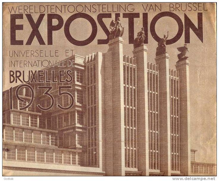 tijdschrift wereldtentoonstelling expo Brussel 1935 - speciaal nummer