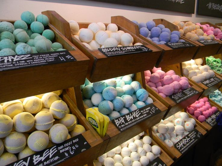 Absolutely love Lush bath bombs! Relaxing and good for your skin!