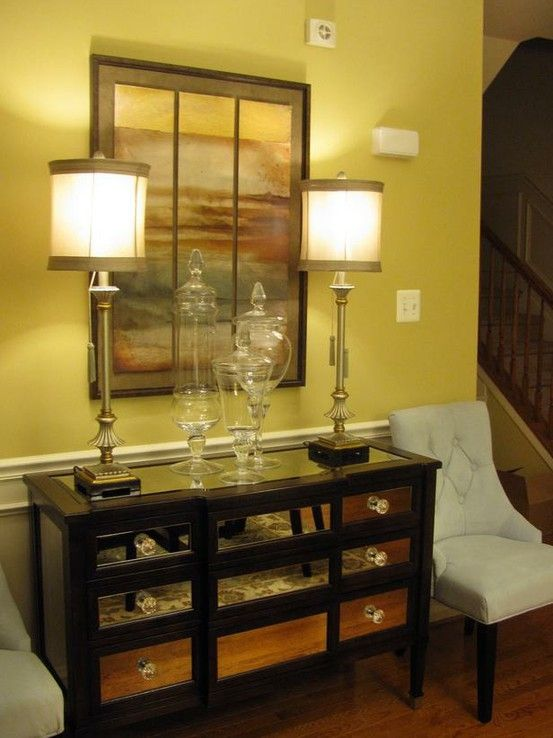 Home Goods Foyer Furniture : Best diy mirrored furniture images on pinterest