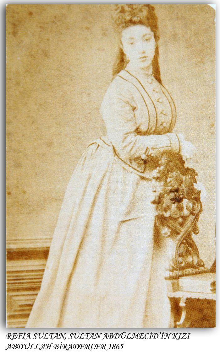 Sultan Abdülmecid'in kızı Refia Sultan-1865