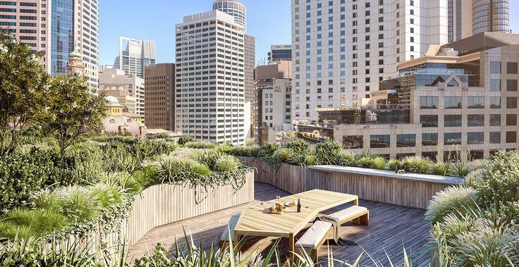MAKE 8 Loftus St Exclusive Rooftop Garden