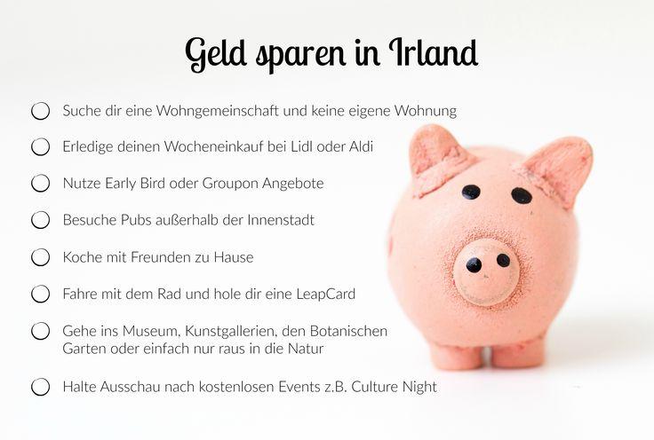 Geld sparen in Irland – Einmal Ausland, immer Ausland