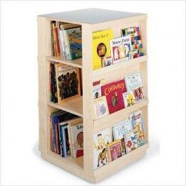 Children S Bookshelf Rotating Shelf Might Go Cute With My Dr Seuss