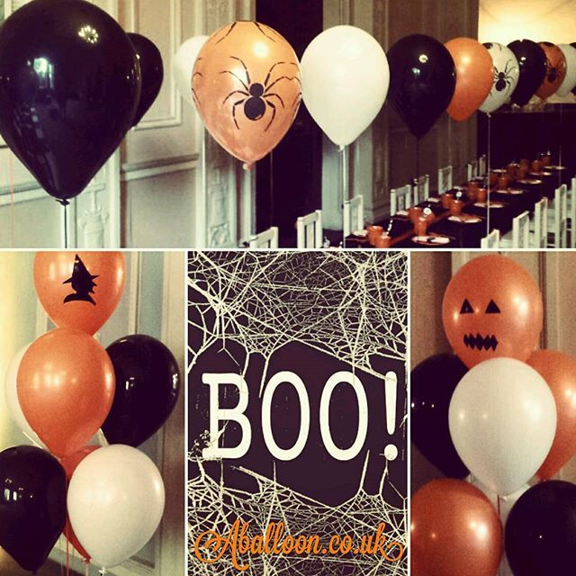 Halloween theme balloons for the spookiest parties #halloween #party #spooky #allhallowseve #scary #partytheme #aballoon