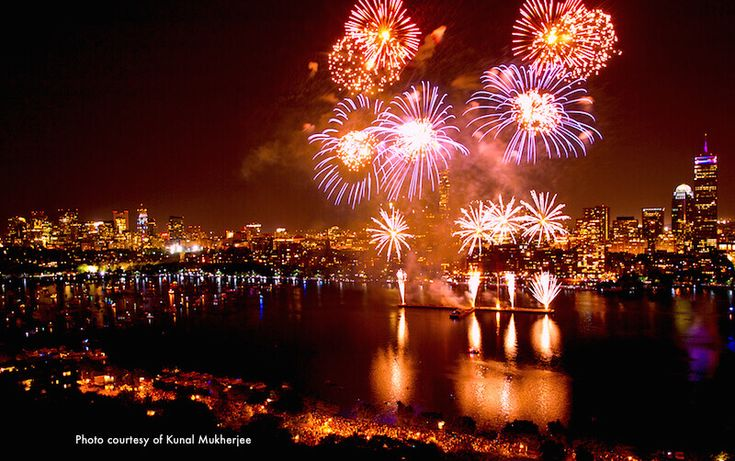 Find best hotels for Boston fireworks viewing on July 4th. Watch fireworks from your hotel room, roof deck, or river locations. Cambridge hotel recommendations also.