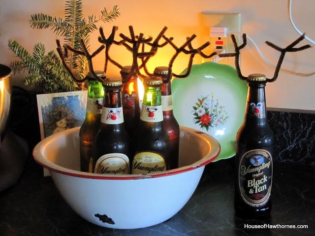 Reindeer beer or rootbeer