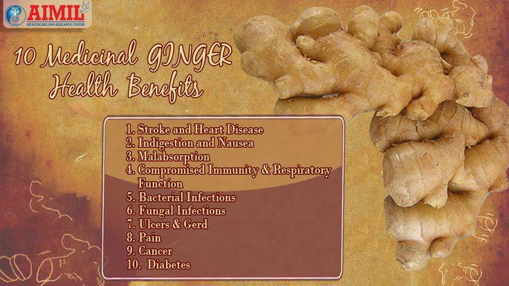 10 Medicinal #Ginger #Health #Benefits
