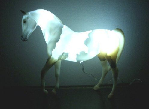 Classic Arab Nightlight Night Lights Horses Breyer