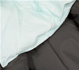 Calm Mint/Granite Gray Reversible College Comforter - Twin XL