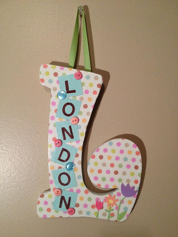 Letters To Hang On Wall 118 best letras y nombres images on pinterest | crafts, names and