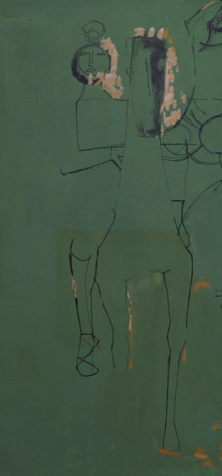 Marino Marini  Cavallo e giocolieri, 1953  Studio Guastalla