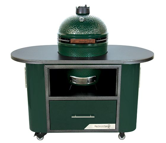 Now In Stock The New Big Green Egg Challenger Table Made