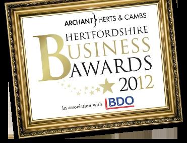 Hertfordshire Business Awards 2012   Celebrating local businesses in Hertfordshire
