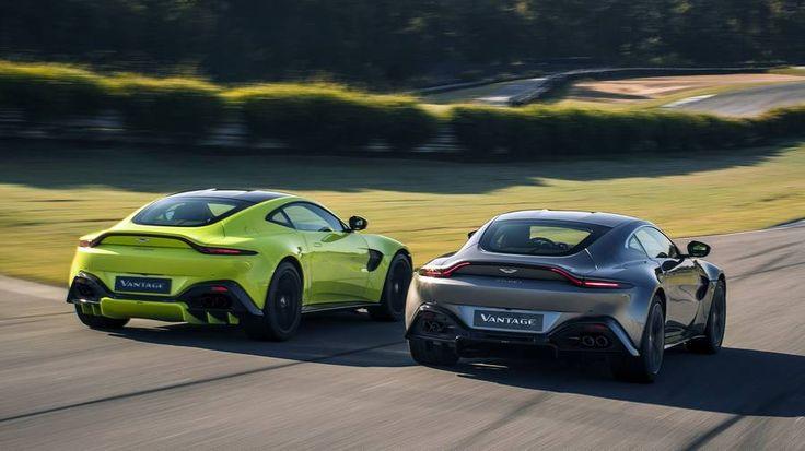 The Aston Martin...