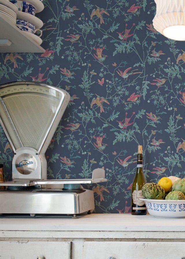 17 meilleures id es propos de papier peint oiseaux sur pinterest oiseaux peints plumes. Black Bedroom Furniture Sets. Home Design Ideas