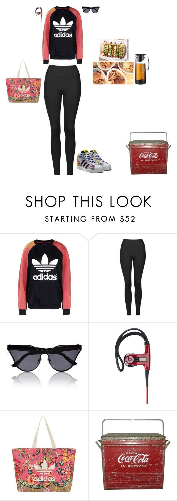 """""""DANCE CLASS FOR CHILDREN IN NEED"""" by stylev ❤ liked on Polyvore featuring adidas Originals, Topshop, House of Holland, Beats by Dr. Dre and Bodum"""