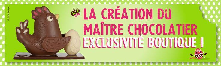 #Pâques #Chocolat #Monbana
