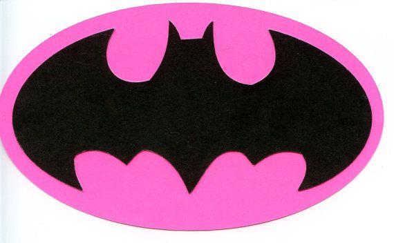 Batgirl Logo Scrapbook Die-cut