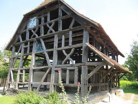 Ecomusée Ungersheim, Fachwerk