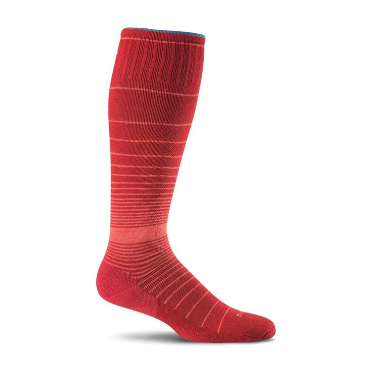A bunion relief split toe with the benefit of a graduated compression leg are what define the Revolution Moderate Compression Socks. Relief from shoe pressure and encouragement of natural alignment in style is what these socks have to offer, and that's what you call the perfect package. SockwellSocks.com: Women's Revolution Bunion Relief Socks