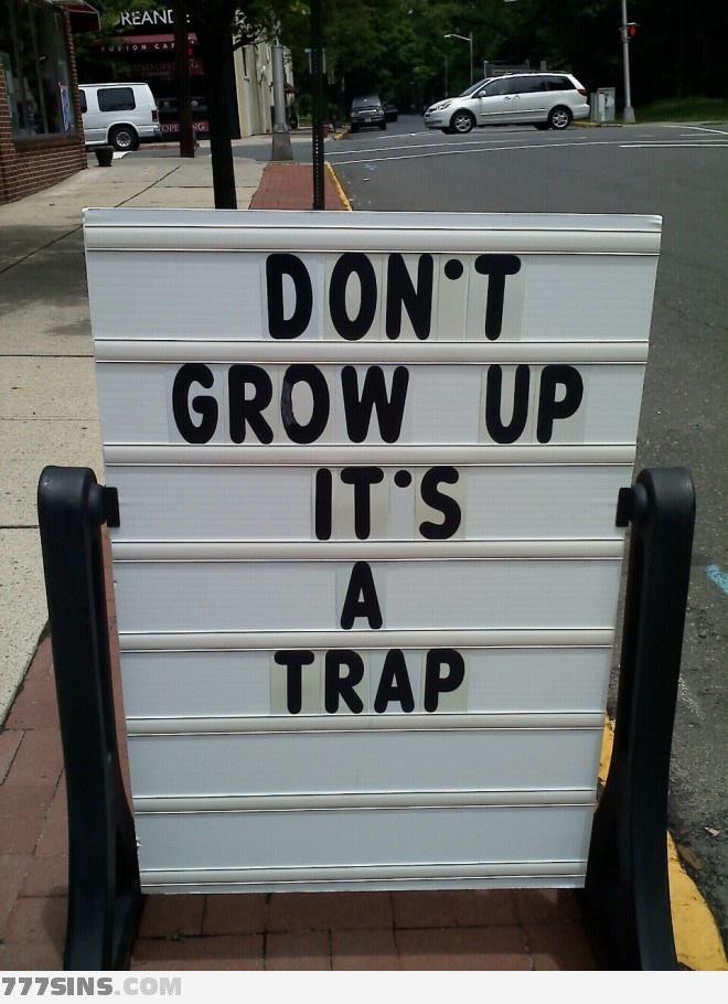 It's a trap! It's True!