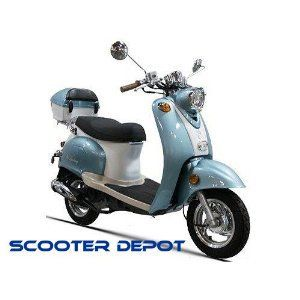 Gas Scooter 50cc Moped Scooter on Sale